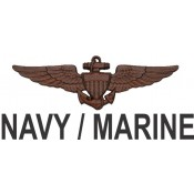 Navy / Marine / Coast Guard Wings  (4)